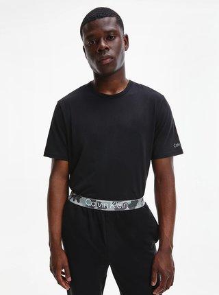 Čierne pánske tričko Calvin Klein