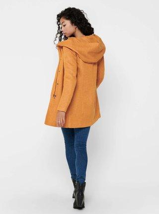 Oranžový kabát ONLY Sedona
