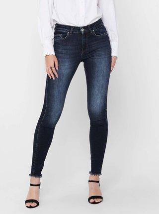 Tmavě modré skinny fit džíny ONLY Blush