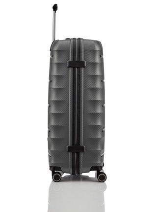 Cestovní kufr Titan Highlight 4w L Anthracite