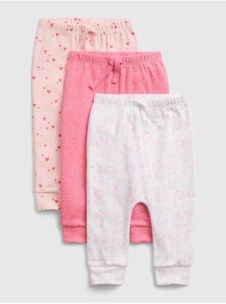 Barevné holčičí legíny print pull-on pants, 3ks GAP