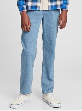 Modré klučičí džíny teen vintage relax taper GAP