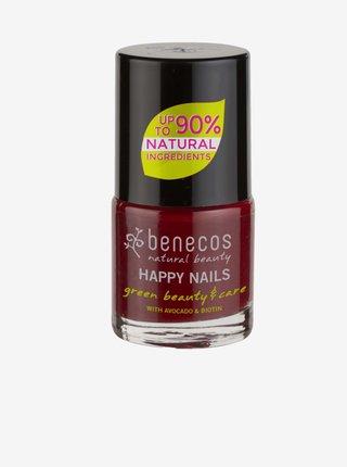 Lak na nehty - cherry red 8 free Benecos