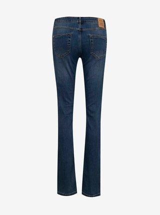 Tmavě modré slim fit džíny CAMAIEU