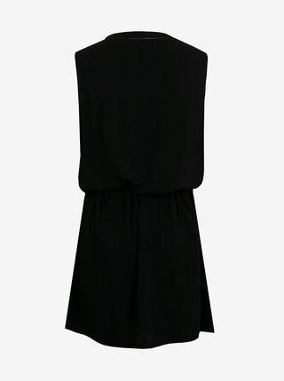 Černé šaty se zavazováním CAMAIEU