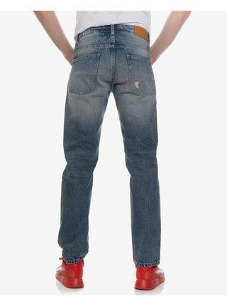 Straight fit pre mužov SAM 73 - modrá