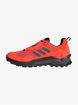 Červené pánske tenisky Adidas Performance Terrex