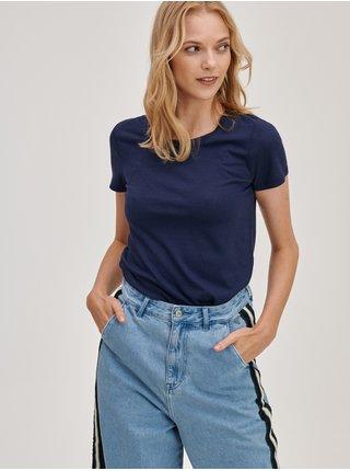 Modrá dámská trička Basic, 2 ks GAP