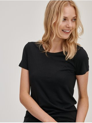 Černá dámská trička Basic, 2 ks GAP