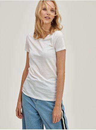 Bílá dámská trička Basic, 2 ks GAP
