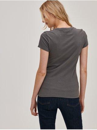 Šedá dámská trička s logem GAP, 2ks GAP