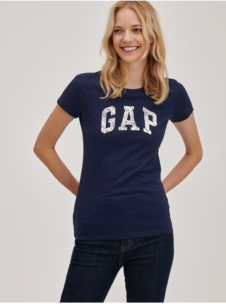 Modré dámské tričko s logem GAP
