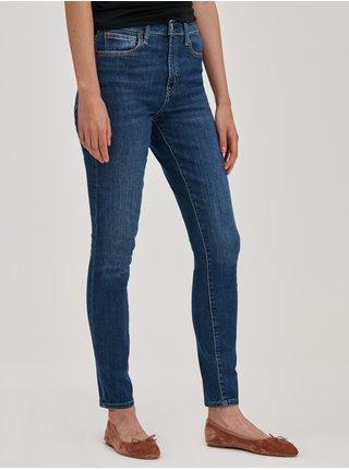 Modré dámské džíny skinny high rise med cyrus GAP