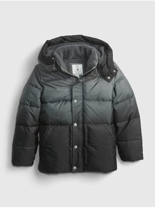 Šedá klučičí bunda zimní prošívaná GAP