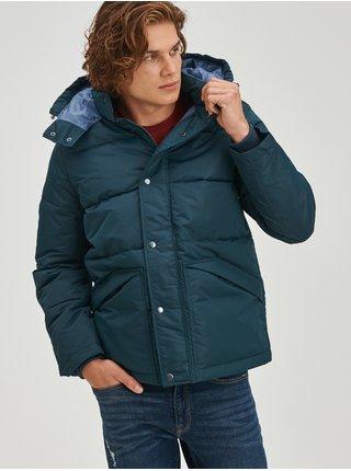 Modrá pánská bunda Pánská zimní prošívaná GAP