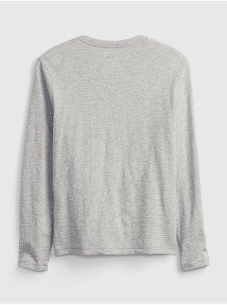 Šedé klučičí tričko lenticular t-shirttričko lenticular t-shirt GAP