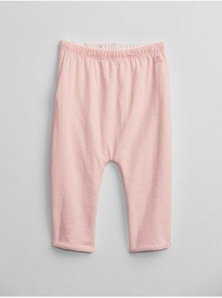 Růžové holčičí tepláky rev pull-on buttom GAP