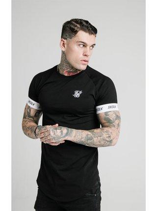 Černé pánské tričko TEE TECH RAGLAN S/S