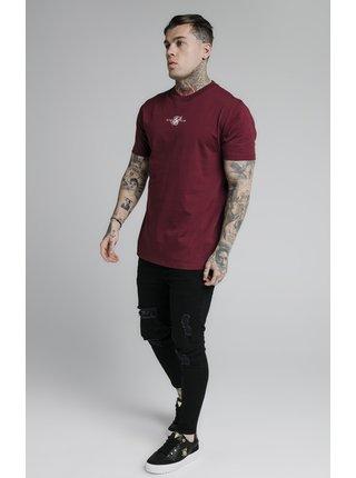 Vínové pánské tričko  TEE CORE BASIC S/S