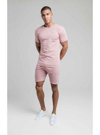 Starorůžové pánské tričko TEE ESSENTIALS SMART