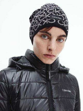 Čiapky, čelenky, klobúky pre ženy Calvin Klein - čierna, biela