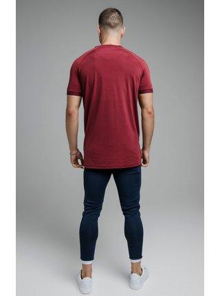 Vínové pánské tričko  TEE SPORTS STRETCH
