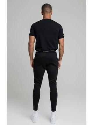 Černé pánské tričko  TEE GYM RAGLAN TAPE EXPOSED