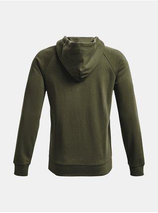 Mikina Under Armour UA Rival Fleece FZ Hoodie - zelená
