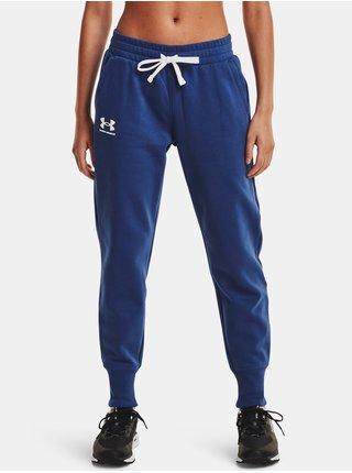 Kalhoty Under Armour Rival Fleece Joggers - modrá