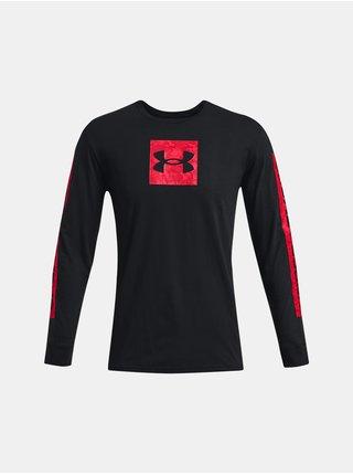 Tričko Under Armour CAMO BOXED SPORTSTYLE LS - černá