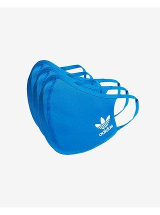 Rúška pre mužov adidas Originals - modrá