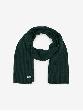 Čiapky, šály, rukavice pre mužov Lacoste - zelená