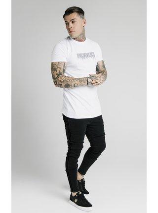 Bílé pánské tričko  TEE CREEP RHINESTONE