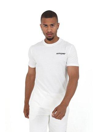 Set pánských kraťas a trička v bílé barvě  SHORTS + TSHIRT REGULAR
