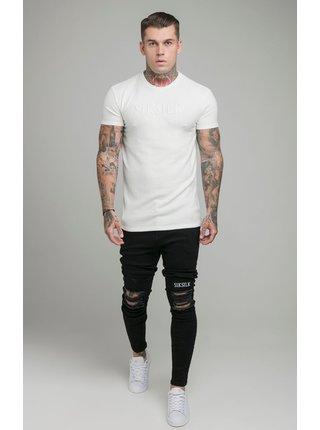 Bílé pánské tričko  TEE GYM S/S