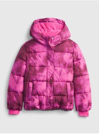 Růžová holčičí bunda classic warmest GAP