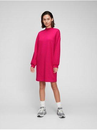 Růžové dámské šaty Fuchsiové šaty GAP
