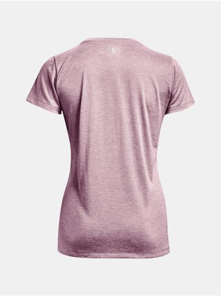 Tričko Under Armour Tech SSC - Twist - růžová