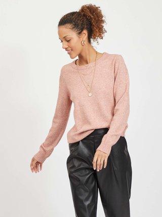 Ružový sveter VILA Ril