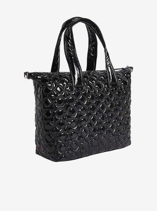 Čierny dámsky prešívaný shopper Calvin Klein