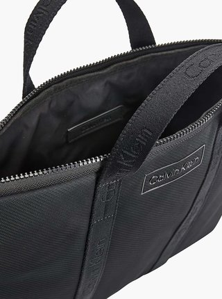Čierna pánska taška na notebook Calvin Klein