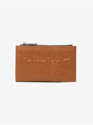 Peňaženky pre ženy Desigual - hnedá