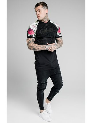 Černé pánské tričko  TEE SPORT STRETCH