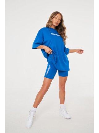 Modré dámské kraťasy  SHORTS CYCLING COMPANY GOOD