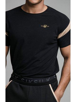 Černé pánské tričko  TEE GYM SPORT S/S