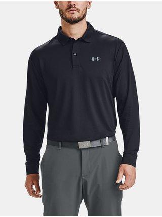 Tričko Under Armour Perf Polo 2.0 Long Sleeve - černá