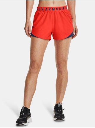 Kraťasy Under Armour Play Up Shorts 3.0 - oranžová