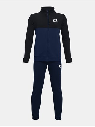 Souprava Under Armour CB Knit Track Suit- tmavě modrá
