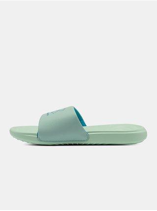 Pantofle Under Armour W Ansa Fix SL - zelená