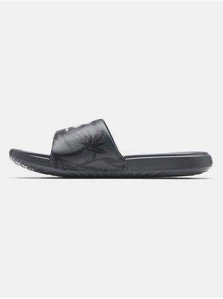 Pantofle Under Armour UA W Ansa Graphic - šedá